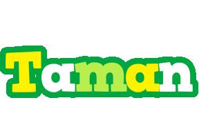 Taman soccer logo