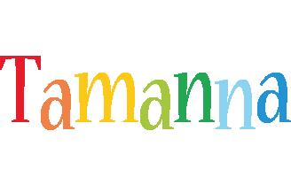 Tamanna birthday logo