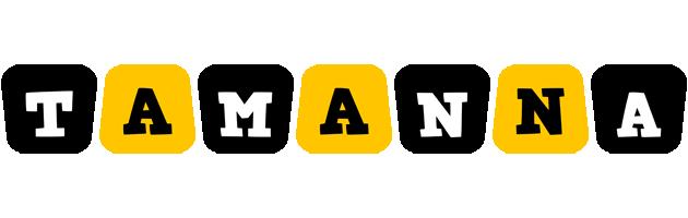 Tamanna boots logo
