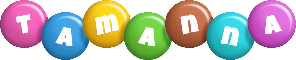 Tamanna candy logo