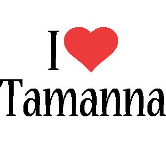 Tamanna i-love logo