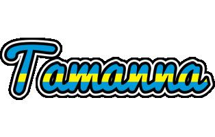 Tamanna sweden logo