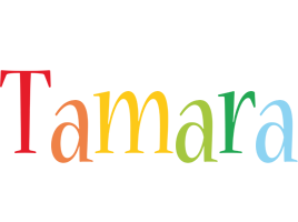 Tamara birthday logo