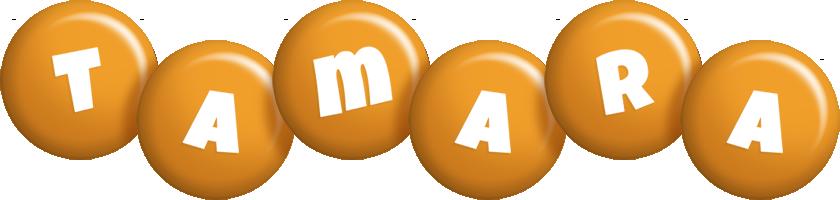 Tamara candy-orange logo