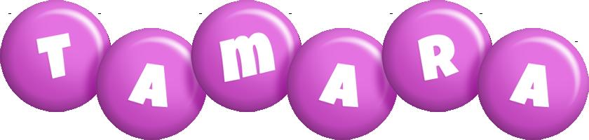 Tamara candy-purple logo