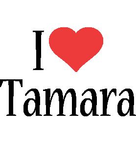 Tamara i-love logo
