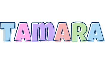Tamara pastel logo