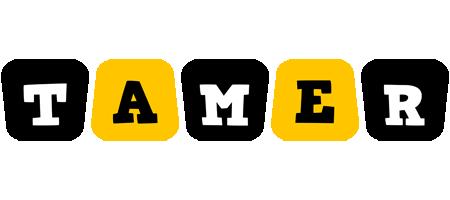 Tamer boots logo