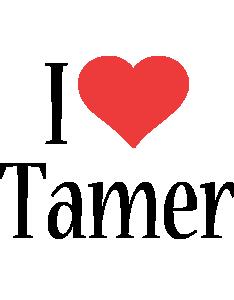 Tamer i-love logo
