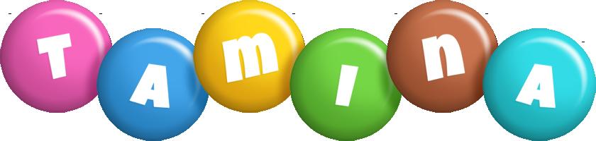 Tamina candy logo