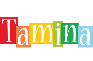 Tamina colors logo