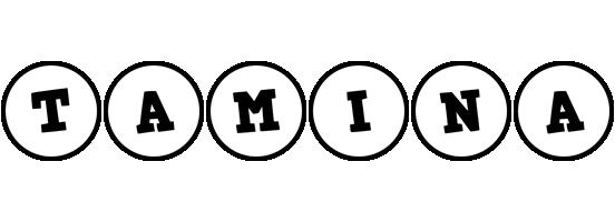 Tamina handy logo