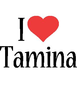 Tamina i-love logo