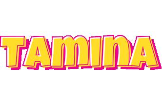Tamina kaboom logo