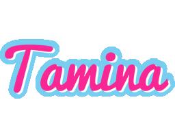Tamina popstar logo