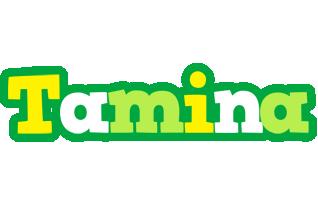 Tamina soccer logo