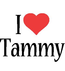 Tammy i-love logo