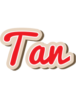 Tan chocolate logo