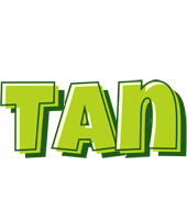 Tan summer logo