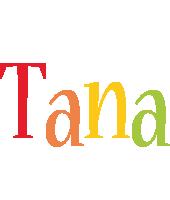 Tana birthday logo
