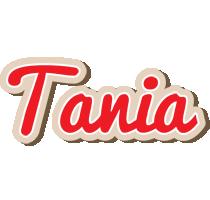 Tania chocolate logo