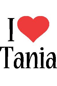 Tania i-love logo