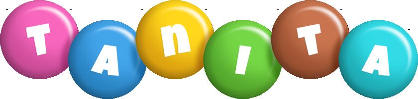 Tanita candy logo