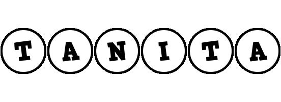 Tanita handy logo