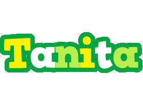 Tanita soccer logo