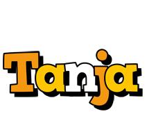 Tanja cartoon logo