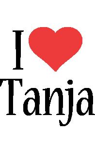 Tanja i-love logo