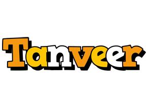 Tanveer cartoon logo