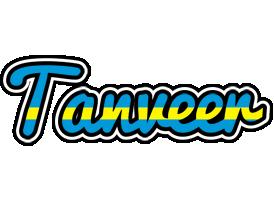 Tanveer sweden logo