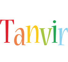 Tanvir birthday logo