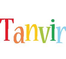 Tanvir birthday logo