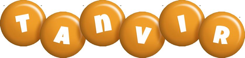 Tanvir candy-orange logo