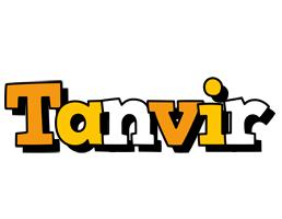 Tanvir cartoon logo