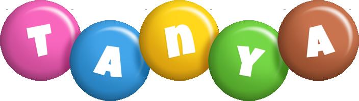 Tanya candy logo