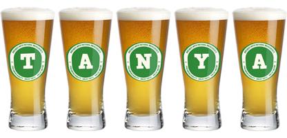 Tanya lager logo