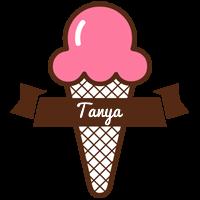 Tanya premium logo