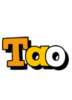 Tao cartoon logo