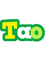 Tao soccer logo