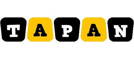 Tapan boots logo