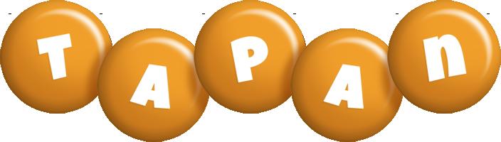 Tapan candy-orange logo