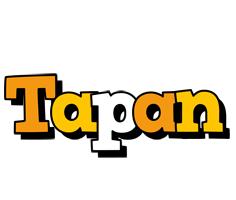 Tapan cartoon logo