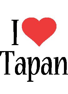 Tapan i-love logo