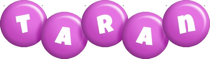 Taran candy-purple logo