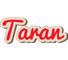 Taran chocolate logo