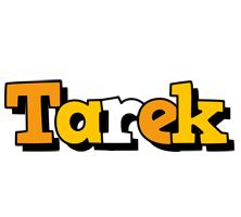 Tarek cartoon logo