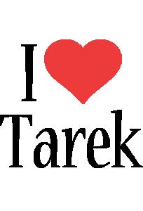 Tarek i-love logo